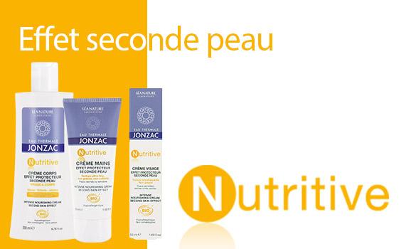 Nutritive, cosmétiques pour peaux sèches à tendance atopique