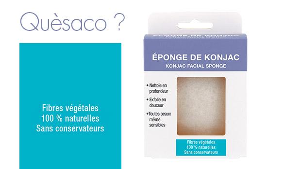 Eponge de Konjac, Quésaco ? une micro-exfoliation végétale