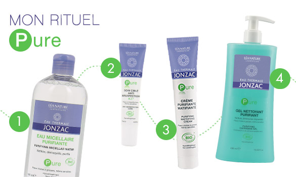 Ma routine beauté sans imperfection Jonzac