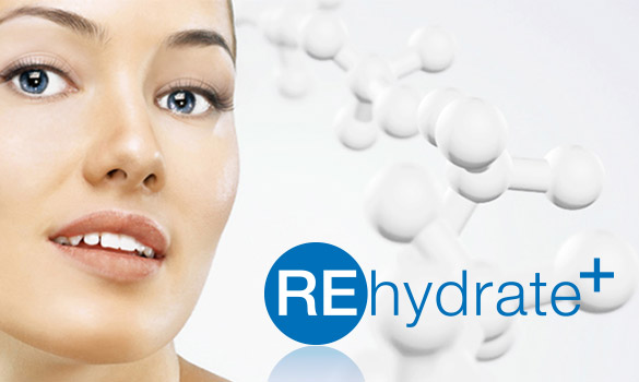 Innovation cosmétique Rehydrate +