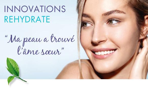 Innovations Rehydrate : ma peau a trouvé l'âme soeur