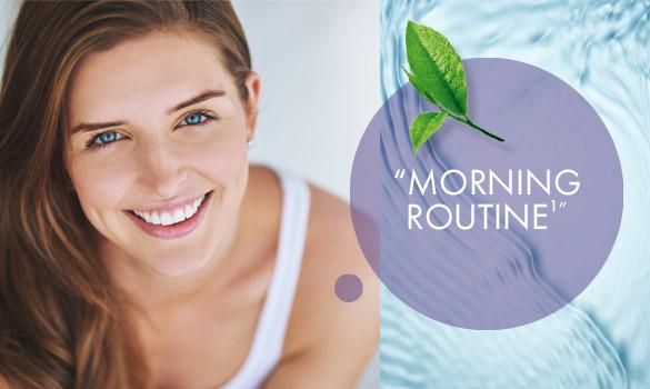 La routine beauté du matin Rehydrate