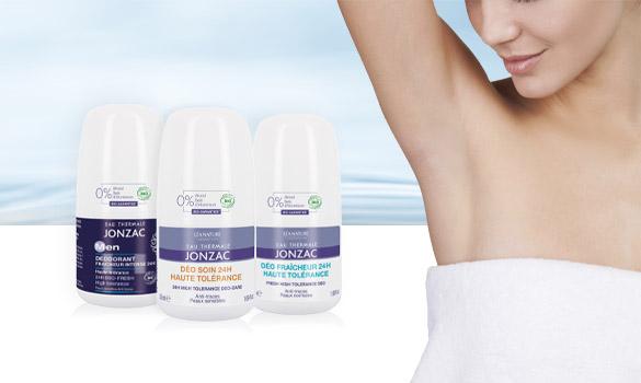 Déodorant certifié bio - Eau Thermale Jonzac